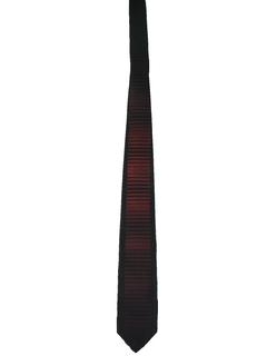 1950's Mens Mod Skinny Rockabilly Necktie