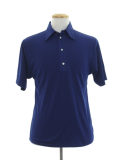 1970's Mens Athletic Polo Style Shirt