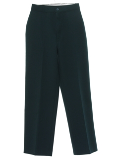 1980's Womens Tapered Knit Pants