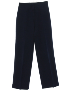 1960's Womens Straight Leg Knit Pants