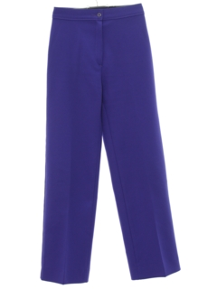 1980's Womens High Waisted Knit Pants