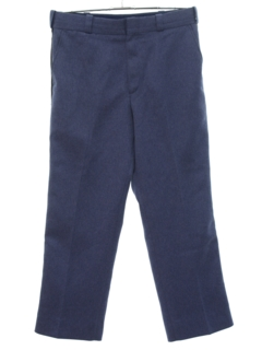 1980's Mens Flared Work Pants Slacks