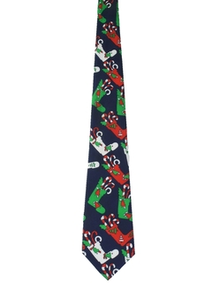 1990's Mens Christmas Necktie