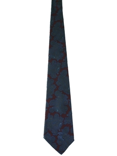 1980's Mens Mod Necktie