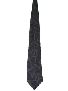 1980's Mens Totally 80s Mod Necktie