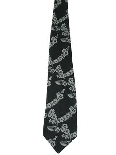 1970's Mens Wide Disco Necktie