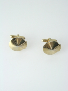 1960's Mens Accessories - Art Deco Cufflinks