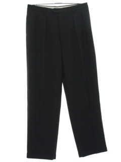 1990's Mens Rockabilly Pleated Slacks Pants