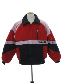 1980's Mens Totally 80s Racing Style Ski Jacket
