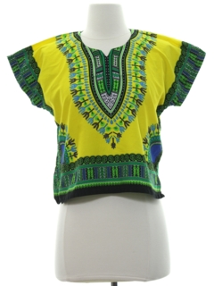1970's Unisex/Childs Dashiki Shirt