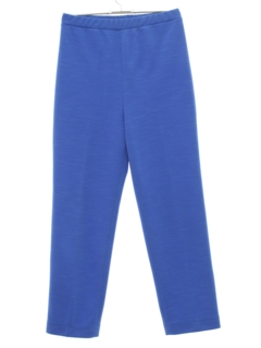 1970's Womens Tapered Knit Pants