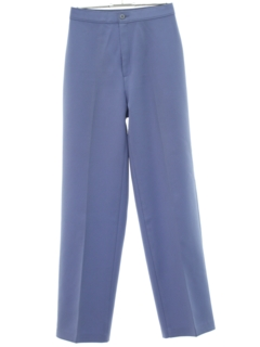 1970's Womens High Waisted Tapered Knit Pants
