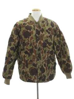 1990's Mens Hunting Camouflage Jacket