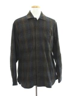 1990's Mens Wool Shirt