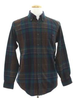 1980's Mens Preppy Pendleton Wool Shirt