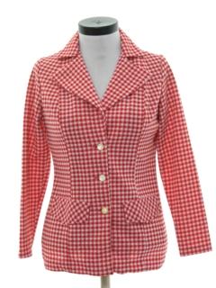 1970's Womens Mod Blazer Sport Jacket