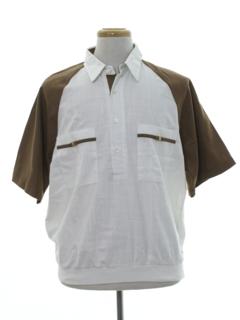 1980's Mens Resort Wear Shirt