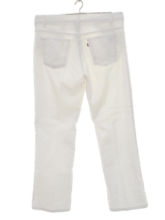 1980's Mens Flared Mod Pants