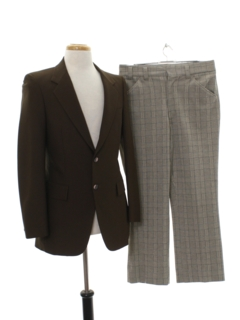 1970's Mens Combo Disco Suit
