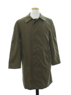 1960's Mens Overcoat Rain Jacket