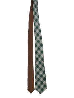 1960's Mens Reversible Mod Necktie