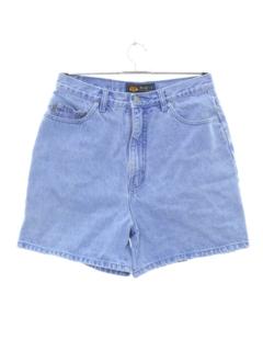 1990's Womens High Waisted Denim Shorts