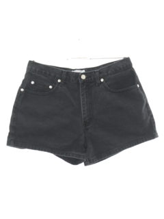 1990's Womens High Waisted Denim Shorts