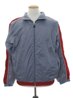 1980's Mens Windbreaker Style Track Jacket