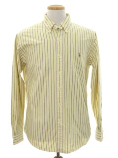 1980's Mens Totally 80s Preppy Shirt