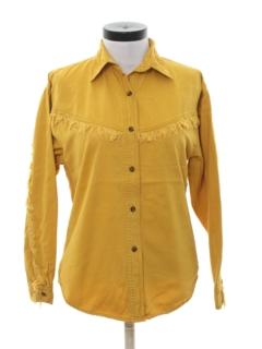1990's Womens Western Shirt