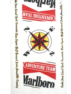 1980's Home Decor - Marlboro Beach Towel
