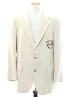 1960's Mens Mod Preppy Blazer Sportcoat Jacket