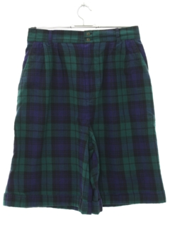 1990's Womens Plaid Shorts
