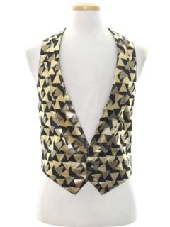 1990's Mens Fancy Vest