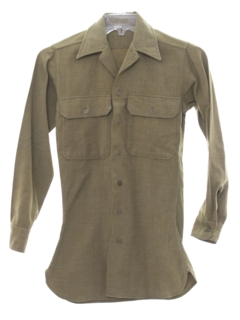 1940's Mens Uniform Shirt
