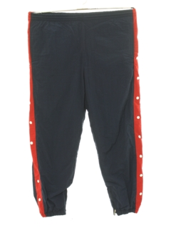 1990's Mens Snap Leg Track Pants