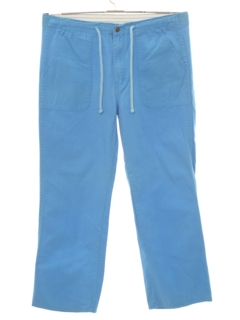 1980's Mens Totally 80s Baggy Surf Style Pants