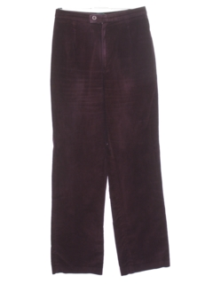 1980's Womens Totally 80s Highwaisted Corduroy Pants