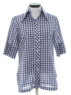 1960's Womens Mod Tunic Style Shirt