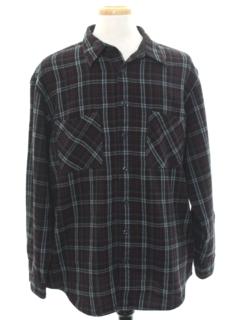 1990's Mens Grunge Flannel Shirt