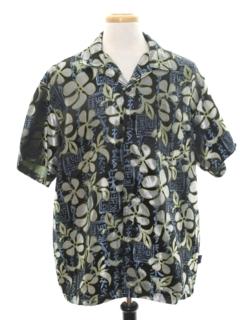 1990's Mens Club Style Hawaiian Sport Shirt