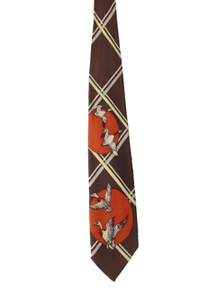 1950's Mens Hunters Necktie