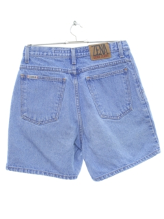 1990's Womens High Waisted Stone Washed Denim Shorts