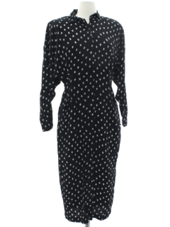 1980's Womens Totally 80s Wiggle Dress