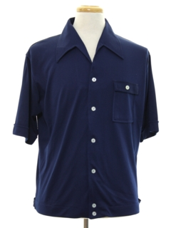 1960's Mens Mod Shirtjac Style Sport Shirt