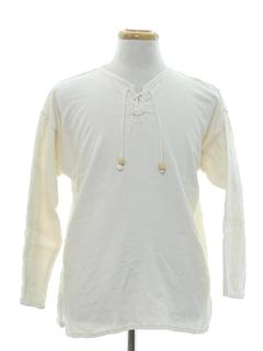 1970's Mens Hippie Shirt