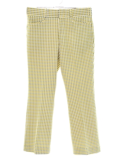 1970's Mens Flared Leisure Pants