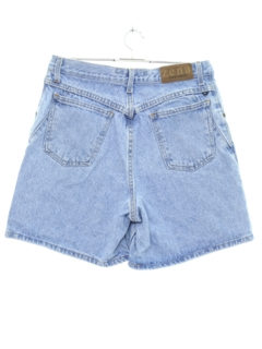 1980's Womens High Waisted Denim Mom Shorts
