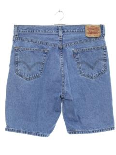1990's Mens Grunge Denim Shorts