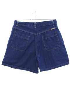 1980's Womens High Waisted Denim Shorts
